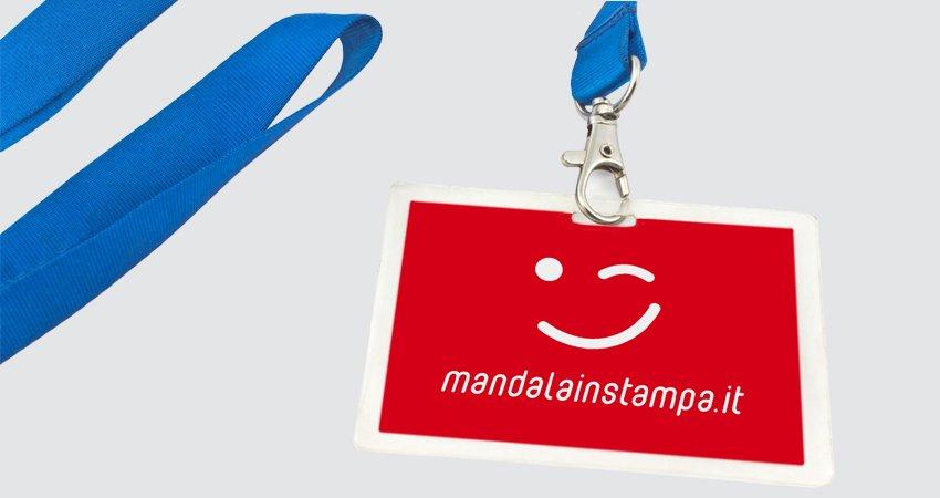 f28208b91469 Braccialetti, Badge e Porta Badge Personalizzati - MANDALAINSTAMPA.it